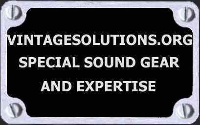 Vintage Solutions.org a site for analog musicians
